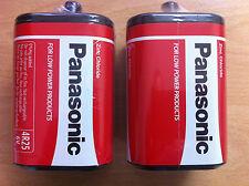 6v Volt Torch Lantern Battery Pj996 Panasonic 4r25rz/b X 6 Batteries