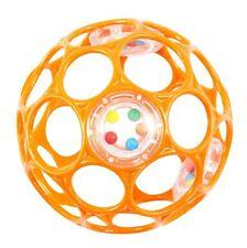 Oball Rattle 10 cm-HCM-Rhino Toys Orange