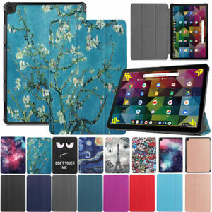 """For Lenovo IdeaPad Chromebook Duet 10.1"""" Smart Leather Stand Flip Case Cover"""