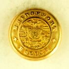1890s-1920s Bridgeport Police Department Uniform Button Original C6ET