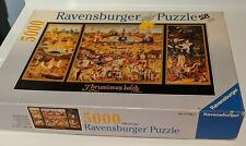RARE 1995 Ravensburger Jheronimus Bosch Garden of Delight 5000 Piece Art Puzzle