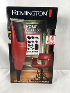 Remington Home Stylist Haircutting Kit Hair Clipper Kit 14 Piece Haircutting Set