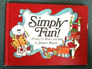 SIMPLY FUN! THINGS TO MAKE AND DO  child's activity book Razzi