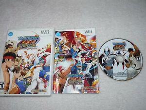 Tatsunoko vs. Capcom: Ultimate All Stars (Nintendo Wii) Tested! Includes Manual!