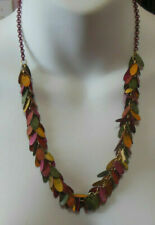 Imagio Multi Color Patina Drop Earring Necklace & Earring Set
