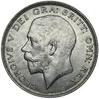 1923 HALFCROWN - GEORGE V BRITISH SILVER COIN - V NICE