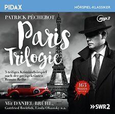Paris Trilogie - 3-teiliges Kriminalhörspiell (Pidax Klassiker)  mp3-CD/NEU/OVP