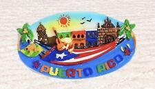 PUERTO RICO BORICUA FLAG OLD SAN JUAN COLORFUL RESIN MAGNETS GIFT SOUVENIRS A