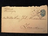 Russland  - alter Brief Ganzsache nach Zaandam / Holland  Nr.2