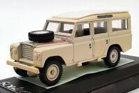 Solido 1/43 Scale Model Car 1914 - 1979 Land Rover Rallye - Cream