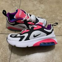 Nike Air Max 200 Shoes Youth Child Size 1y At5631-100 Infinity Hyper Pink purple