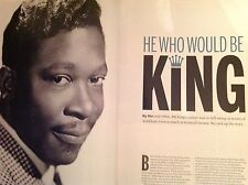 Guitarist Magazine BB King Special Edition Rare King Of The Blues + Sheet Music