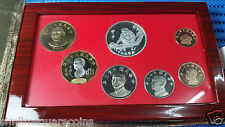 2004 China-Taiwan NT$ Dollar Proof Coin Set and Monkey Silver Proof Medallion
