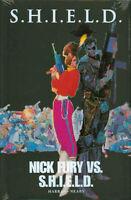 SHIELD Nick Fury VS Shield HC Hardcover *Sealed/NM* $40 Cover