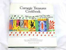 Carnegie Treasures Cookbook (1984; HC; 292 pgs.) - Carnegie Inst. recipes - VG+
