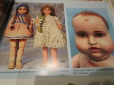 16pg BURGARELLA Italian Compo Doll History Article/ MASTER OF / Odin