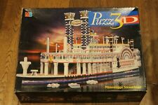 PUZZ 3D MISSISSIPPI STEAMBOAT  718 PIECES COMPLETE JIGSAW PUZZLE