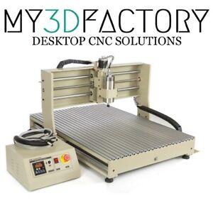 Fresa Pantografo CNC 600x900mm 4assi 3D 1500w USB ITA 6090
