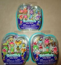 "Lot of 3 Mattel Enchantimals Bug Buddies Mini 2 Doll Packs 2"""