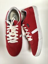 c4bff08544 Chrome mens skate shoes casual with forged rubber - red