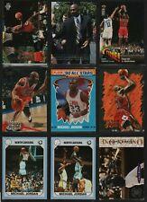 Lot (18) Jordan cards lot Fleer Topps NBA UNC bulls last dance barons Pippen