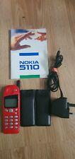 Nokia 5110 - Red (O2) Mobile Phone