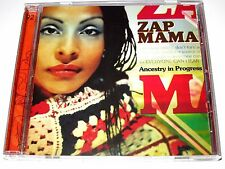 cd-album, Zap Mama - Ancestry In Progress, 15 Tracks, MINT