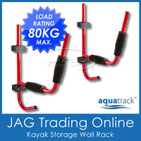 AQUATRACK KAYAK STORAGE WALL RACK CARRIER BRACKET-Canoe/Surf Ski/Surfoard/Paddle