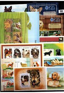 BL 32 S/S - MNH - MIX - NATURE - PETS - ANIMALS - DOGS - WHOLESALE