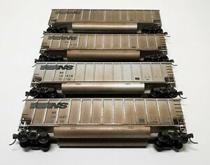 Lot of Four Walthers HO Scale Aluminum Bethgon Coalporters Norfolk Southern NS