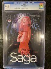 Saga #3 (First appearance of Izabel) Brian K Vaughan, Fiona Staples - CGC 9.6