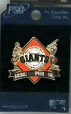 Giants Baseball From Spring To Fall Pin 2004 San Francisco New On Card PSG sfg98