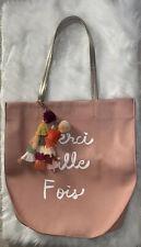 Anthropologie Merci Mille Fois Shoulder Tote Handbag XL