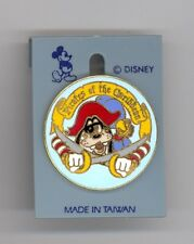 1986 Disney Pirate Goofy & Parrot Pirates of the Caribbean Older Pin & Card