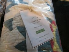 Pottery Barn Maisie King quilted sham New with tag