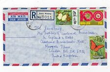 MALAYSIA: 1975 Registered Airmail cover to London (C25165)