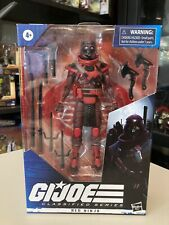 NEW GI JOE Classified Cobra Series Red Ninja action figure