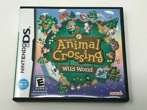 Animal Crossing: Wild World (Nintendo DS, 2005) Authentic Complete CIB Tested