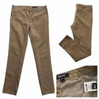 JUST CAVALLI Mens Khaki Chino Trousers Size 30W 32L