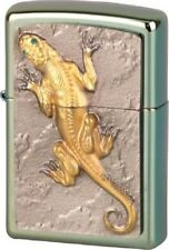 EDEL Zippo GOLDEN LIZARD Chameleon Eidechse Limited Edition 1000  NEU