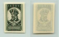 Lithuania 1940 SC 315 mint imperf color proof . f2675