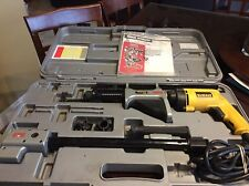 SENCO DuraSpin DS300 Corded Electric Screw Gun Fastening System W/Dewalt DW257