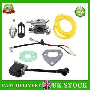 Carburetor Carb Ignition Coil Kit For HUSQVARNA 136 137 141 142 36 41 Chainsaw