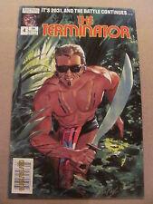 Terminator #4 NOW Comics 1988 Series
