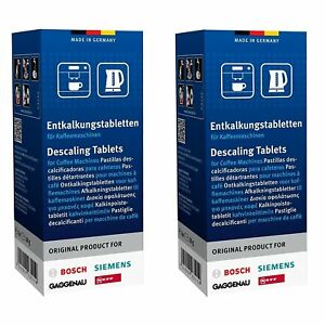 Gaggenau Coffee Machine Descaler Tablets (2 boxes of 6 tablets)