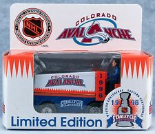 White Rose Collectibles NHL Colorado Avalanche Zamboni Stanley Cup 1996 MIB