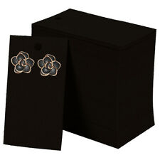 Earring Cards for Display 100 Pcs Kraft Paper Earring Display Cards 2x3.5 Inches