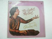 GHULAM ALI THE LATEST THE BEST GHAZALS 1981 RARE LP RECORD india hindi GHAZAL EX