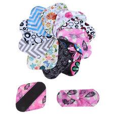 1Pc Women reusable cloth organic bamboo menstrual pads with wings mama pads MC