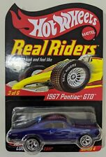 HOT WHEELS RLC REAL RIDERS 1967 PONTIAC GTO 07770/11000